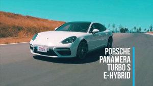 赛道试驾Panamera Turbo S E-Hybrid