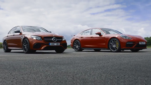 加速测试 AMG E63 S对比Panamera Turbo