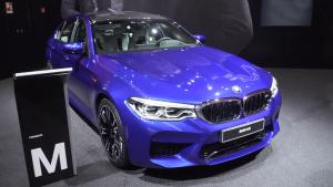 2017法兰克福车展 全新宝马M5亮相