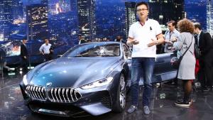 2017法兰克福车展 详解宝马8系