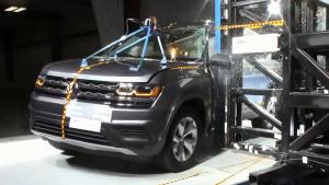 2018款大众Atlas NHTSA侧杆碰撞测试