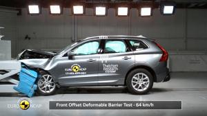 E-NCAP碰撞测试 沃尔沃XC60获五星
