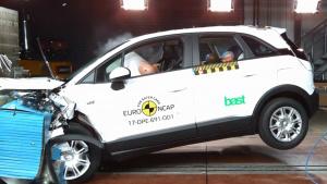 E-NCAP碰撞测试 欧宝Crossland X