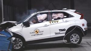 E-NCAP碰撞测试 三菱Eclipse Cross