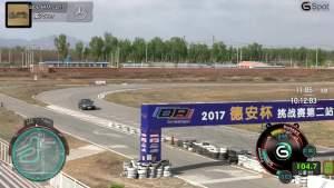 奔驰E320L行政级轿车 锐思赛道圈速测试