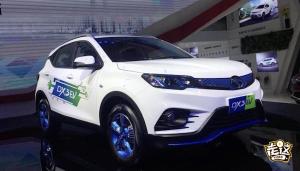 DX3 EV首次曝光,东南打造纯电动小型SUV