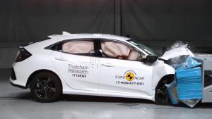 E-NCAP碰撞测试 本田思域获五星安全