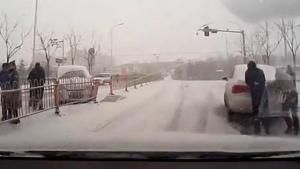 【山西晋城】雪铁龙c4l强悍的雪地驾驶模式