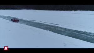 雪地安全驾驶指南——一汽丰田全系的冰上华尔兹