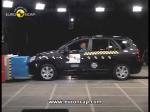2007款 起亚 佳乐Carens 欧盟新车安全评鉴协会