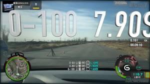 雷诺ESPACE0-100km/h加速测试车内视角