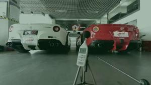 法拉利 F12 V12 iPE 排气