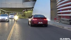 超级跑车加速声浪!奥迪R8 宝马M6,法拉利488 GTB