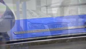 奥迪A5丨车身改色亮光蔚蓝