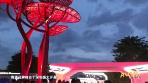 奥迪品牌峰登陆鹏城 全新旗舰级SUV奥迪Q8首发亮相