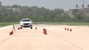 WEY VV7 超级评测高速躲避障碍物测试