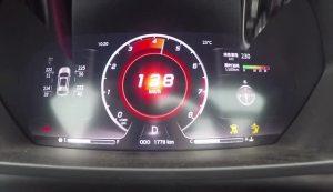DX7超级评测0-100km/h加速仪表盘