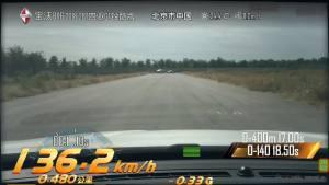 BX6加速测试
