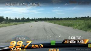 现代悦动超级评测加速测试混车内