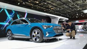 续航堪比特斯拉,奥迪能否靠它拿下纯电SUV市场?