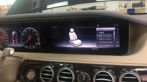 改装18款奔驰S320动态按摩通风座椅功能 舒适控制功能