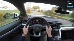 兰博基尼Urus 4.0T V8主视角试驾 650马力SUV