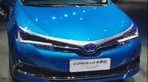 直击2018广州车展:丰田卡罗拉