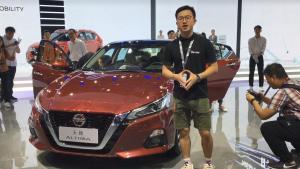 广州车展:全新日产天籁首发!黑科技加持能否在B级车