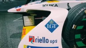 2018广州车展 Formula E赛车 Audi e-tron FE04