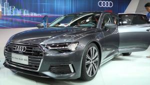 """广州车展:""""老干部""""的科技蜕变 体验新款奥迪A6L"""