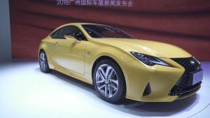 新款雷克萨斯RC广州车展正式上市 售价45.5—50.6万元