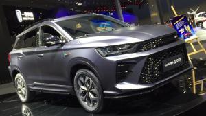更具有运动型,斯威G01 F版车型广州车展正式上市