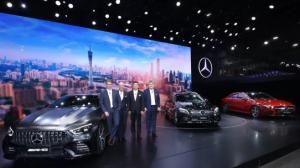 四大品牌37款车型 梅赛德斯-奔驰AMG GT四门国内首秀