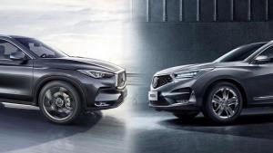 日系豪华中型SUV对决:RDX PK QX50丨每日新车频