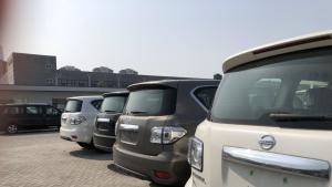 中东版日产途乐 天津港现车价格跌到冰点