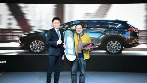 CX-8搭载创驰蓝天2.5L发动机和6AT变速箱售25.88万元