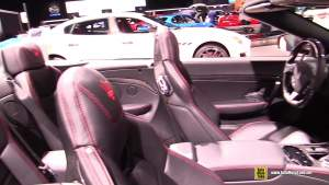 2018洛杉矶车展:2019款玛莎拉蒂GT MC敞篷版实拍