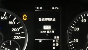梅赛德斯奔驰威霆、V卤素灯升级原厂LED前大灯