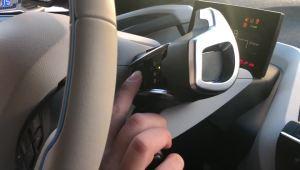 宝马i3充电状态下开启暖风演示