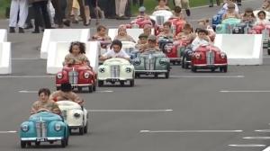 用双脚驱动,专属宝宝的赛车比赛,国内啥时候有?