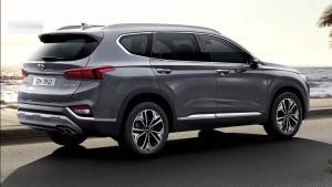 2019款现代圣达菲,全新外观铸就跨界家用SUV