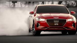 全新现代劳恩斯G70曝光,外型像国产车,内饰像豪华车