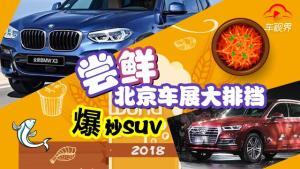 尝鲜北京车展大排档——爆炒SUV