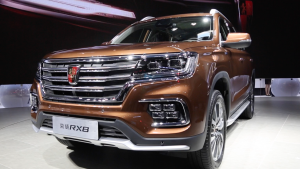 2018北京车展 上汽荣威RX8正式上市