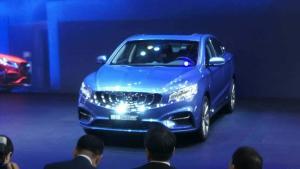 #2018北京车展# 在颜值不高的新能源车中,它是清流