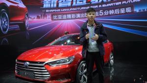 2018北京车展新车快评:比亚迪秦Pro