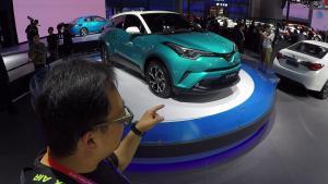 特别的年轻  北京车展解读丰田C-HR