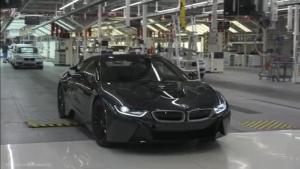 如何组装一台宝马i3新能源汽车?看完你就知道了!