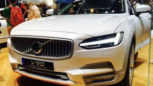 2018纽约车展Volvo V90旅行车