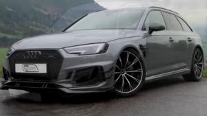 2018奥迪 RS4-R AVANT ABT挑战超跑